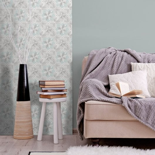 Papier peint tapisserie papier peint intiss et vinyle - Papier peint mosaique ...