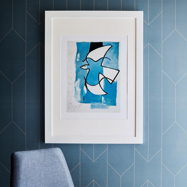 cadre laqu 50 x 70 cm blanc blanc n 0 leroy merlin. Black Bedroom Furniture Sets. Home Design Ideas