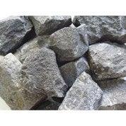 Galets balaste en pierre naturelle, noir, 30/50 mm, 25 kg