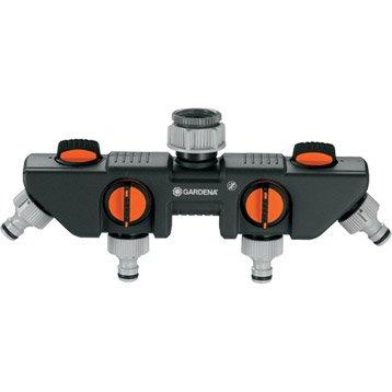 Sélecteur nez de robinet automatique 26/34 et 20/27 mm GARDENA