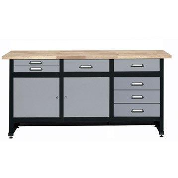 etabli armoire et am nagement de l 39 atelier outillage. Black Bedroom Furniture Sets. Home Design Ideas