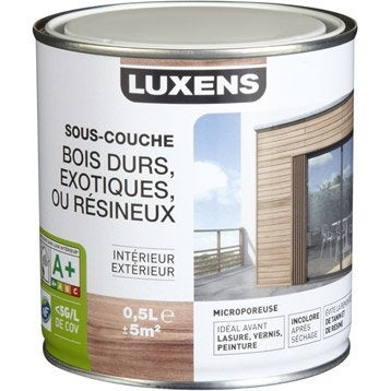 Sous-couche bois exotique LUXENS 0.5 l