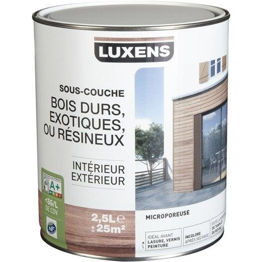 Sous couche bois exotique luxens 2 5 l leroy merlin for Sous couche bois exterieur