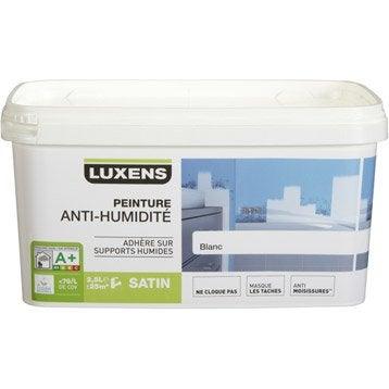 Peinture antihumidité, LUXENS blanc 2.5 l