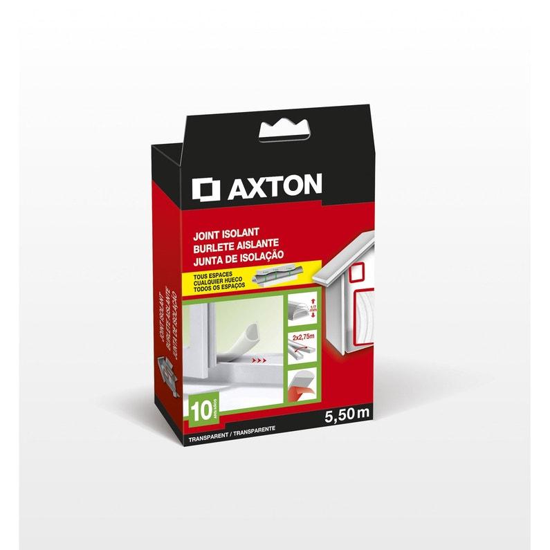 Joint De Porte Et Fenêtre Universel Axton De 1 à 7 Mm X 5 5 M Transparent