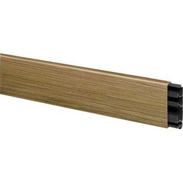 moulure goulotte et plinthe moulure lectrique cache c ble leroy merlin. Black Bedroom Furniture Sets. Home Design Ideas