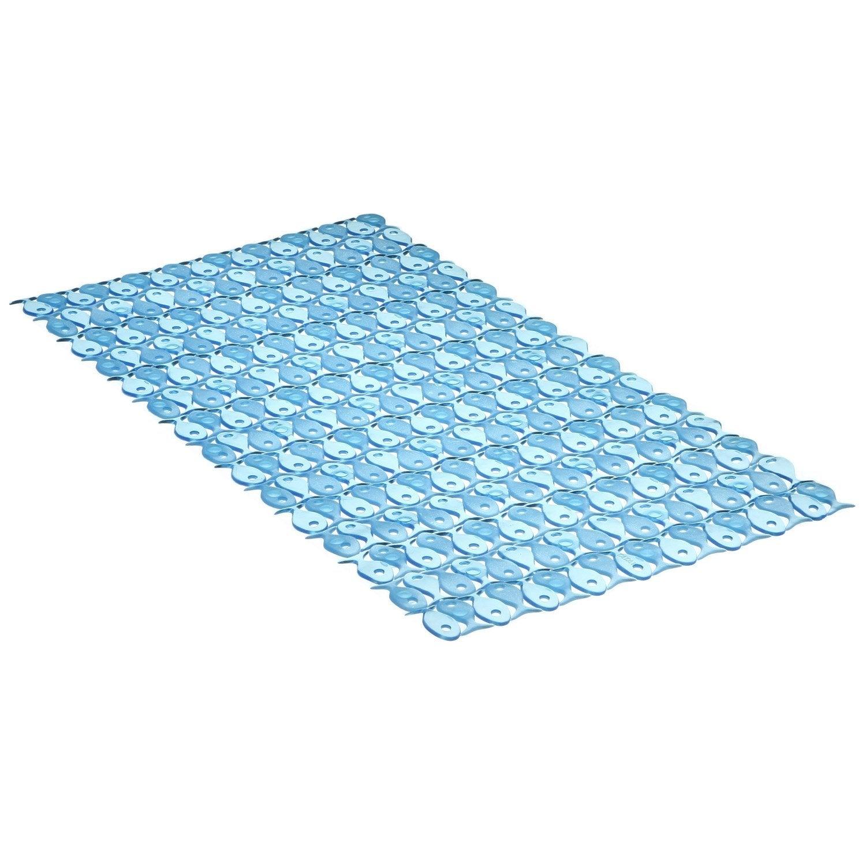 tapis antidrapant bleu pour baignoire fish - Tapis De Bain Antiderapant