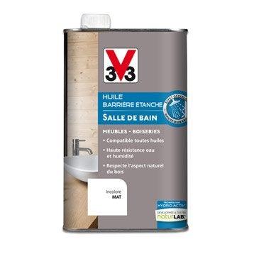 Huile cuisine et bain V33, incolore, 1 l