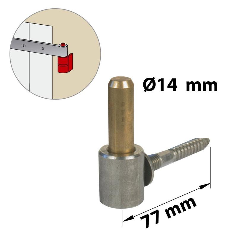 Gond Inox Brossé H70 X L25 X P110 Mm