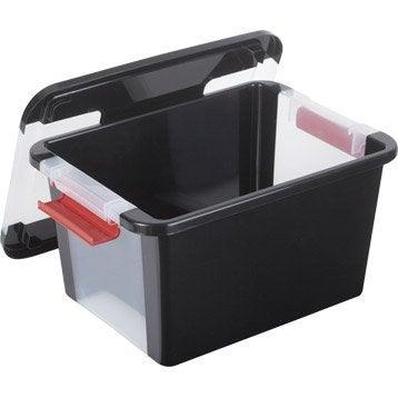 Boîte B-box plastique , l.36.5 x P.25.8 x H.19 cm