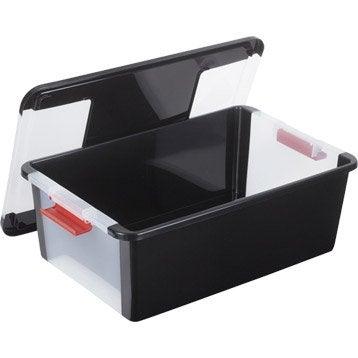 Boîte B-box plastique , l.55 x P.35 x H.19 cm