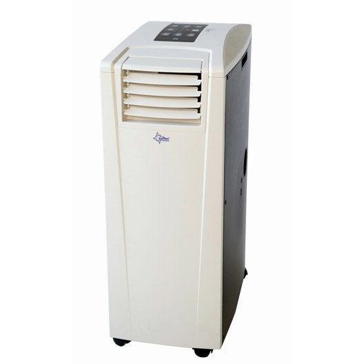 climatiseur mobile – climatisation, clim reversible   leroy merlin