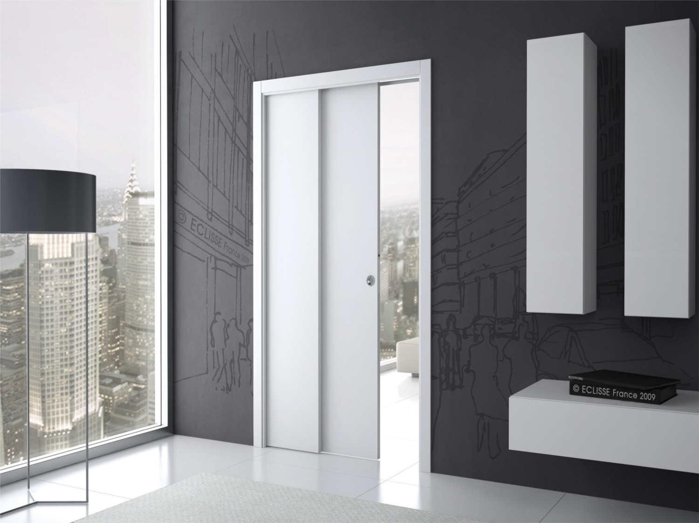 Cr er une cloison modulable entre la cuisine et le s jour - Realiser une porte coulissante ...