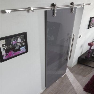 rails portes suspendues systme coulissant sliduup pour porte jusquu mm rail m kg su with rails. Black Bedroom Furniture Sets. Home Design Ideas