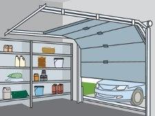 Bien choisir sa porte de garage leroy merlin for Largeur porte sectionnelle garage