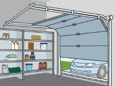 Bien choisir sa porte de garage leroy merlin for Avis porte de garage sectionnelle leroy merlin