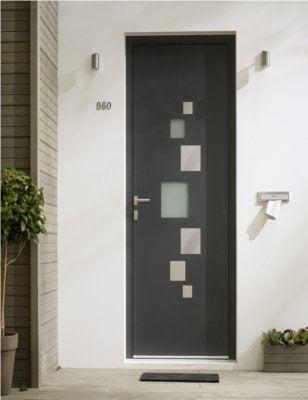 Genial Porte Du0027entrée En Aluminium
