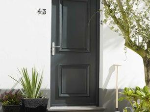 portes d 39 entr e sur mesure votre projet cl en main leroy merlin. Black Bedroom Furniture Sets. Home Design Ideas