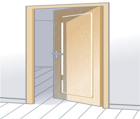 comment choisir sa porte d 39 entr e leroy merlin. Black Bedroom Furniture Sets. Home Design Ideas