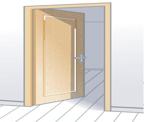 Comment choisir sa porte d 39 entr e leroy merlin for Porte tierce interieur