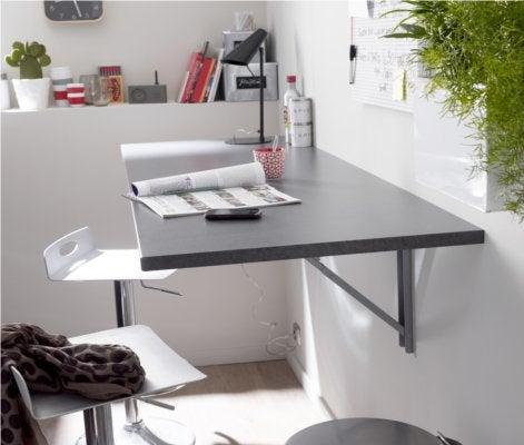 crer un plan de travail cuisine cuisine en laque satine gris sable et plan de travail en granit. Black Bedroom Furniture Sets. Home Design Ideas