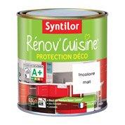 Protecteur Rénov'cuisine SYNTILOR, incolore mat, 0.5 L