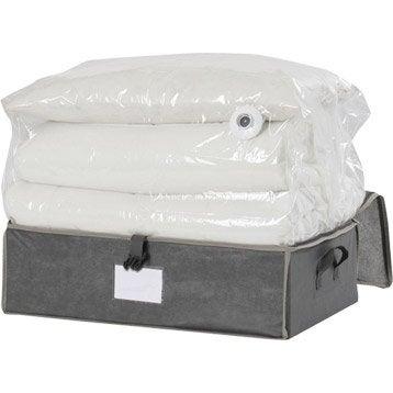 panier malle et boite de rangement accessoires de rangement leroy merlin. Black Bedroom Furniture Sets. Home Design Ideas