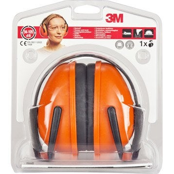 protection auditive et t te casque de chantier bouchon d. Black Bedroom Furniture Sets. Home Design Ideas