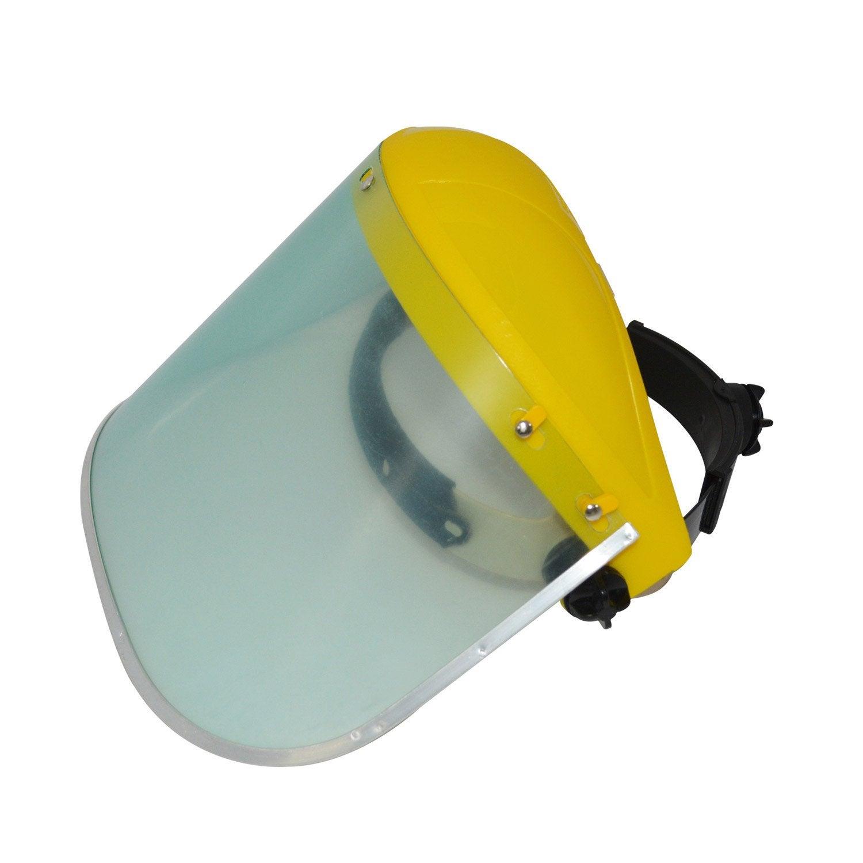 fcd83765a81387 Serre-tête avec écran protection polycarbonate DEXTER   Leroy Merlin
