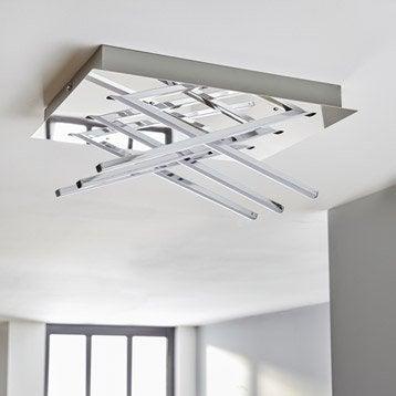 plafonnier design led integree otok metal chrome 1 x 20 w inspire Résultat Supérieur 15 Incroyable Plafonnier Design Salle De Bain Stock 2017 Kjs7
