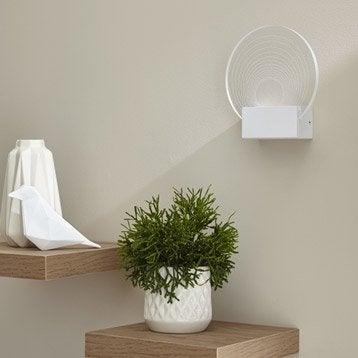 Applique Ispica, 1 x 5 W, acrylique transparent, INSPIRE