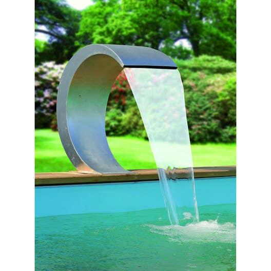 fontaine de piscine cascade inox mamba 316 ubbink leroy. Black Bedroom Furniture Sets. Home Design Ideas
