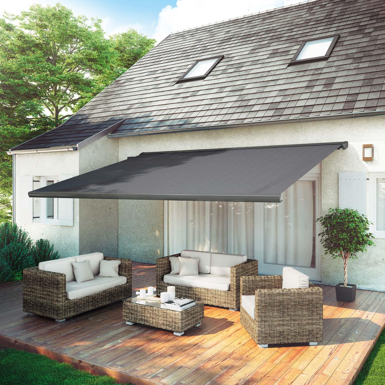 store banne motoris gold xxl coffre int gral 5 x 4 m. Black Bedroom Furniture Sets. Home Design Ideas