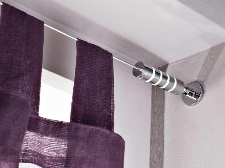 Pour tringle rideau mix amp match inspire d 20 mm acier - Tringle rideau mur a mur ...