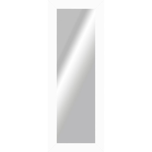 Miroir okaasan blanc x cm leroy merlin for Miroir largeur 50 cm