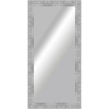 Miroir okaasan argent 60 x 140 cm for Prix miroir 50 x 60