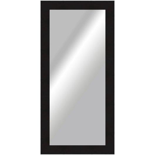 miroir okaasan noir 70x170 cm leroy merlin