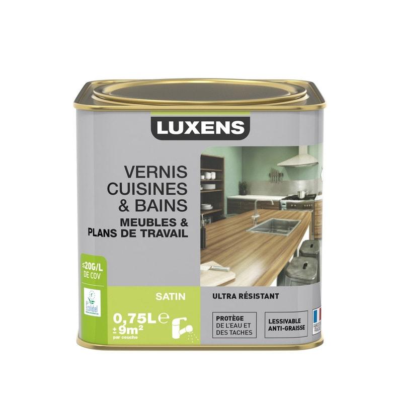 Vernis Cuisine Et Bain Vernis Cuisine Et Bains Luxens 075 L Chêne Clair