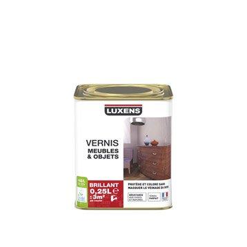 Vernis meuble et objets Vernis meubles et objets LUXENS, 0.25 l, incolore