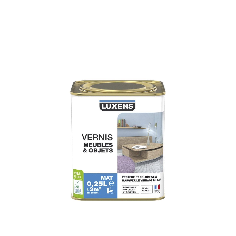 Vernis Meuble Et Objets Vernis Meubles Et Objets Luxens 0 25 L  # Vernir Un Meuble En Palette