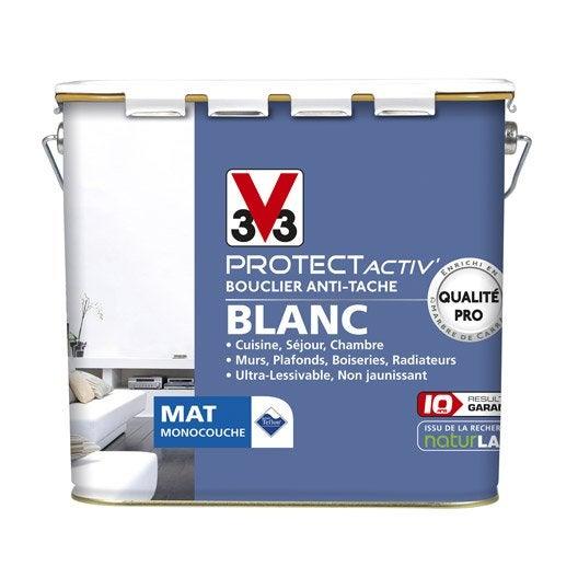 Peinture murs et plafonds v33 protect activ mat 5l - Peinture v33 plafond ...