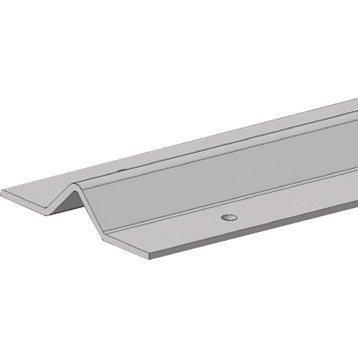 Rail de guidage acier galvanisé, H.20 x L.2000 x P.70 mm