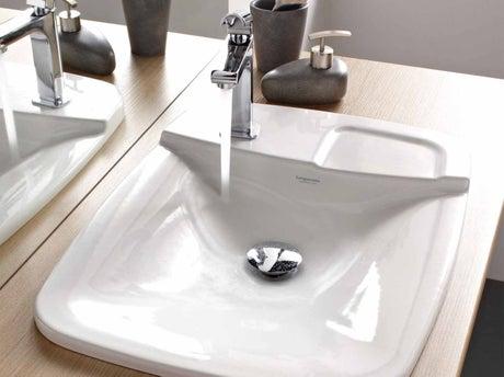 comment choisir sa vasque ou son lavabo leroy merlin. Black Bedroom Furniture Sets. Home Design Ideas