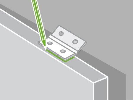 Comment poser les charnières d\'une porte de meuble ? | Leroy Merlin
