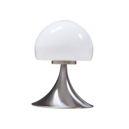 lampe mushroom inspire verre blanc 28 w leroy merlin. Black Bedroom Furniture Sets. Home Design Ideas
