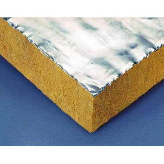 9 panneaux en laine de roche fireplace paroc r leroy - Coefficient r laine de roche ...