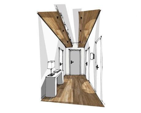 4 id es de rangement au sol au mur et au plafond leroy for Meuble de rangement pour couloir