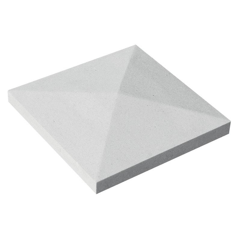 Chapeau Cpp432b Blanc H4 X L32 X P32 Cm