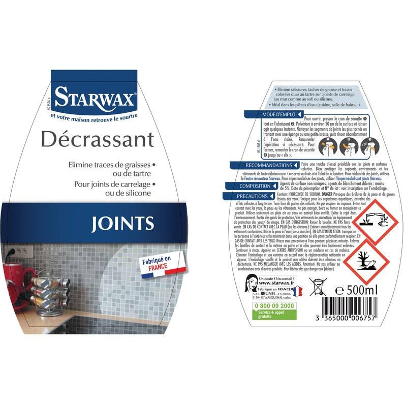 Décrassant Joints Silicone Starwax 05 L