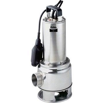 Pompe d'évacuation eau chargée FLOTEC Biox 200/8a 17000 l/h
